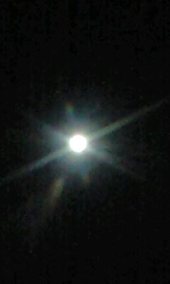 新年初満月o(^-^)o