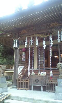 青麻神社へ