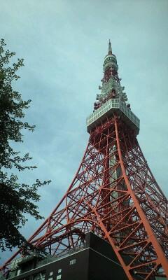 東京タワーだわー