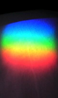 虹のプリズム