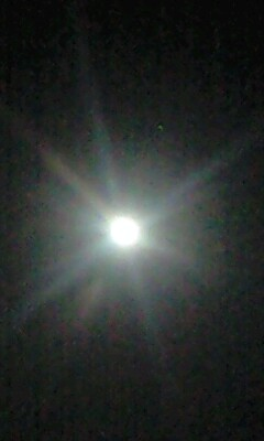 七赤金星から満月へ