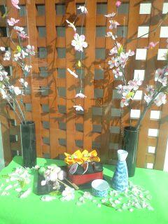 八重桜の番になり