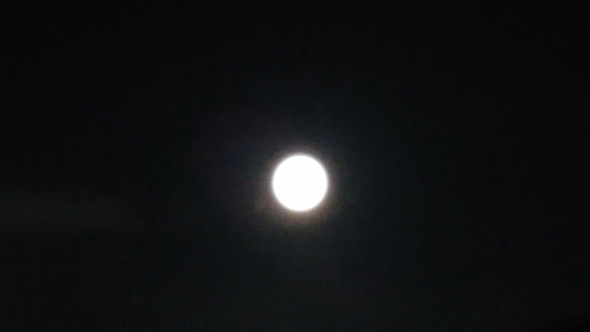 満月とトゥルシー