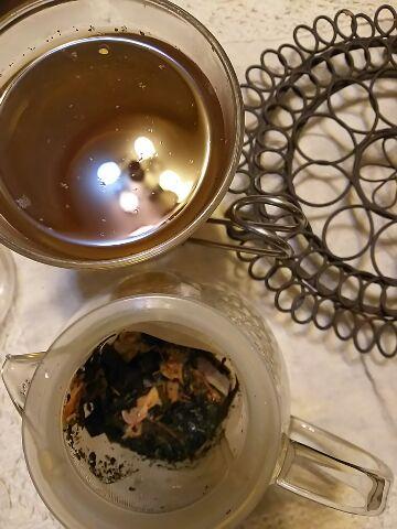 今夜のお茶