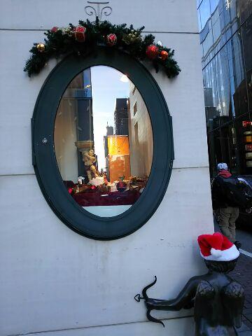 クリスマスが近づいた銀座