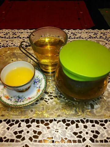 娘と私のお茶