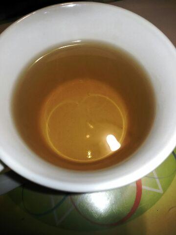 今夜もお茶