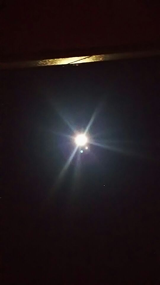年頭に 祈りの満月