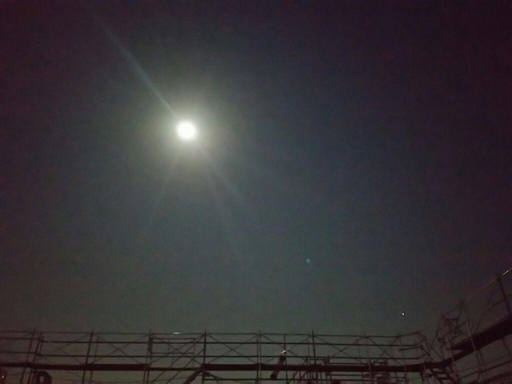 満月 キレイ