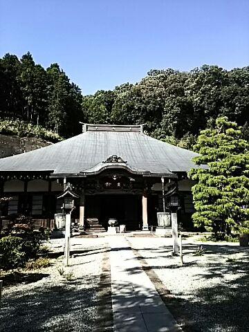 秋晴の日  お寺でのいちにち