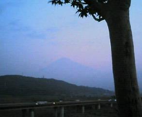 おはよう 富士山